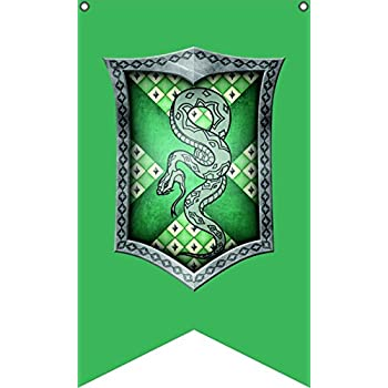 Amazon.com: Harry Potter Slytherin de bandera | Paisaje ...