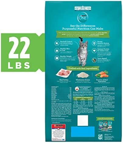 Purina ONE Indoor Advantage Adult Cat Food 4