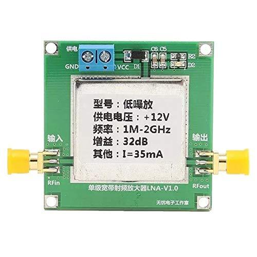 RF Power Amplifier 5-3500Mhz Rf Broadband Signal Amplifier Power Amp High Gain 20Db with - Rf Power Amp