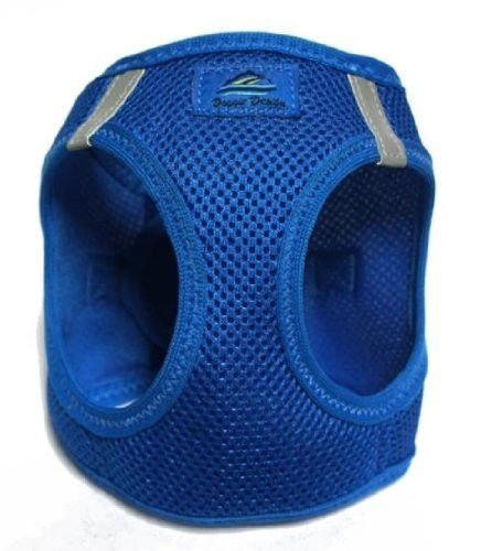 CHOKE FREE REFLECTIVE STEP IN ULTRA HARNESS - BLUE - ALL SIZES - AMERICAN RIVER (Medium) by Doggie Design - Free Harness