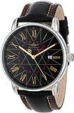 Breytenbach Men's BB7750SG Classic Analog Dual Time Function Watch