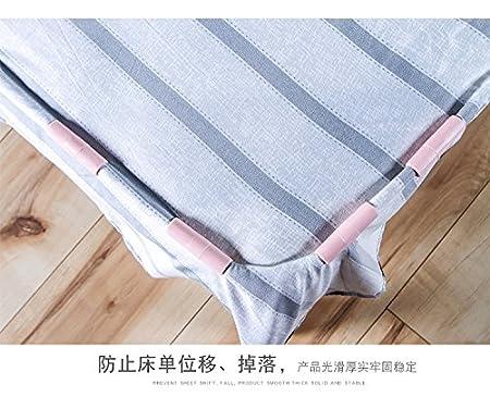 White Ranvi 10 PCS Bed Sheet Grippers Keep Sheets Snug