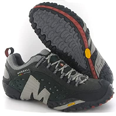 e67114e798e31 Merrell Intercept Charcoal Mens Trainers Size 9: Amazon.co.uk: Shoes ...