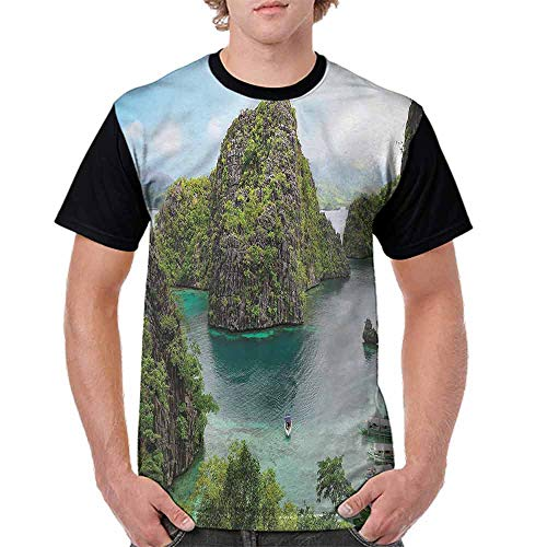 Fashion T-Shirt,Cliff in Philippines Fashion Personality Customization