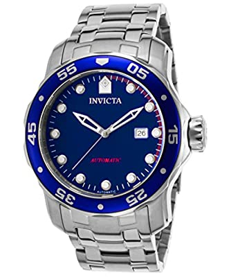Invicta-Men-s--Pro-Diver--Automatic-Stainless-Steel-Casual-Watch--Color-Silver-Toned--Model--23631-