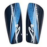 CoCocina Football Inset Leg Guard Adult Sport Calf Protective Gear Memory Foam Light Plate -Blue