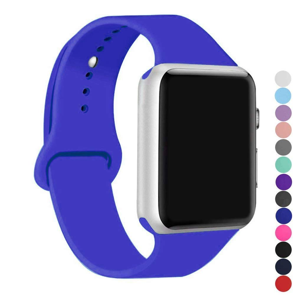 Malla Silicona para Apple Watch (38/40mm) IC6SPACE [H1QG1Z4]