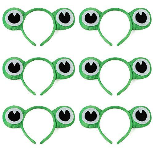 TOPTIE 6PCS Plush Animal Headbands Cute Party Head Band Halloween -