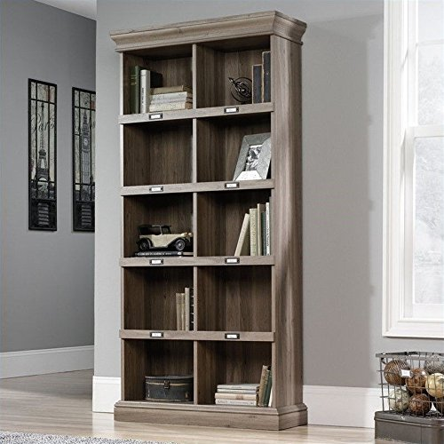 sauder-barrister-lane-tall-bookcase-in-salt-oak