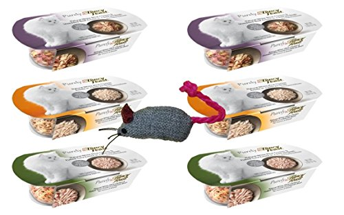 Fancy Feast Purely Complete Cat Food 3 Flavor Variety 6 Can