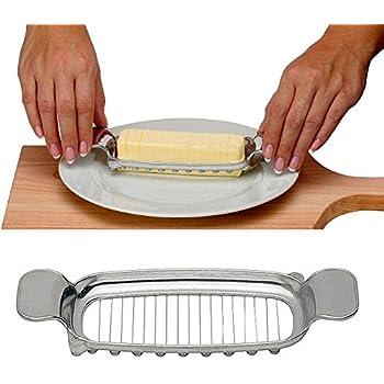 Amazon Com Aluminum Butter Slice Cutter Kitchen Tool Cube