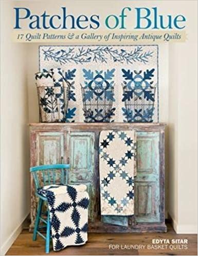 Patches Of Blue 17 Quilt Patterns And A Gallery Of Inspiring