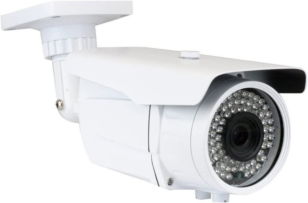 GW Security 5MP 1080p CCTV Outdoor Bullet Security Camera System, Wide Angle Lens, 30 LED, 100-Feet IR Distance