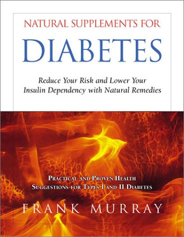 Download Natural Supplements for Diabetes: Reduce Your Risk and Lower Your Insulin Dependency With Natural Remedies PDF