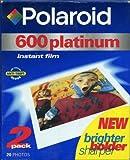 platinum film - Polaroid 600PLAT-2PK - 600 Platinum Film [2 Pack]