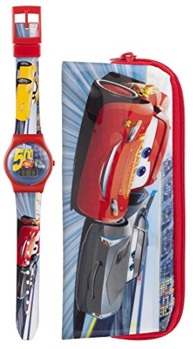 disney-cars-3-lightning-mcqueen-lcd-wrist-watch-pencil-case-set-blue-red
