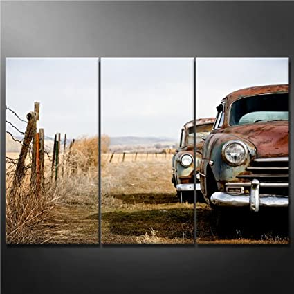 Amazon.com: Canvas Print Wall Art Painting for Home Decor vintage ...