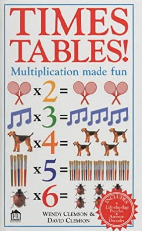 Times Tables Multiplication Made Fun Wendy Clemson David