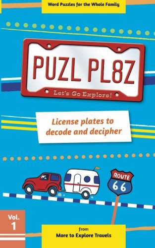 Read Online PUZL PL8Z License plates to decode and decipher (Volume 1) PDF