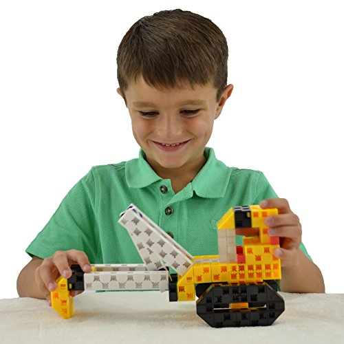 Construction Toys For Boys : Click a brick toys mighty machines pc stem learning
