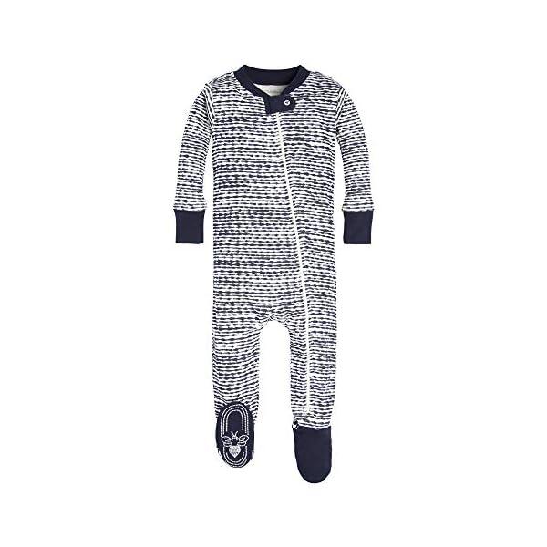 e4cd475fc Burt s Bees Baby - Baby Boys  Sleeper Pajamas