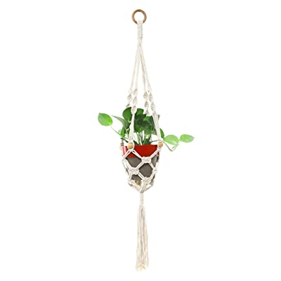 S.N.Handicrafts Hanging Planters Flower Pot Holder Planter/Plant Hanger for Indoor Outdoor Decorations: Home & Kitchen