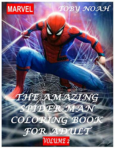 The Amazing Spiderman Coloring Book for Adult - Volume 2