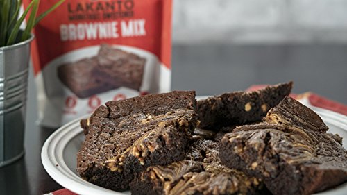 Lakanto Sugar-Free Brownie Mix | 3 net carbs | (Gluten-Free, 16 Servings) by Lakanto (Image #2)