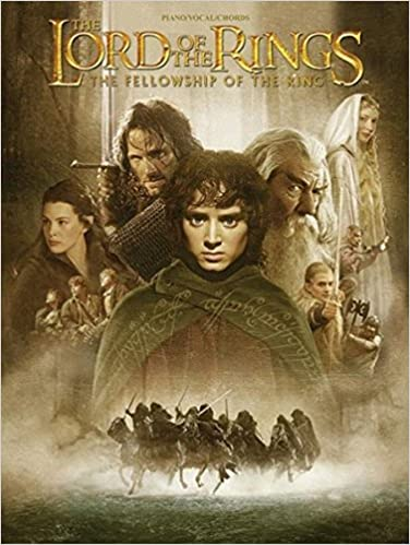 The Lord Of The Rings The Fellowship Of The Ring Pianovocalchords