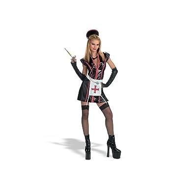 Naughty Nurse Costume  sc 1 st  Amazon.com & Amazon.com: Naughty Nurse Costume: Adult Sized Costumes: Clothing
