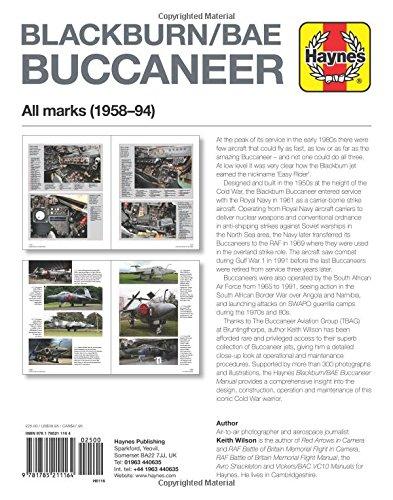 Blackburn/BAE Buccaneer Owners' Workshop Manual: All marks (1958-94