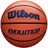 Wilson Evolution Game Basketball, Navy, Official Size - 29.5&