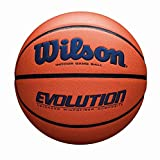 Wilson Evolution Game Basketball, Navy, Official Size - 29.5""