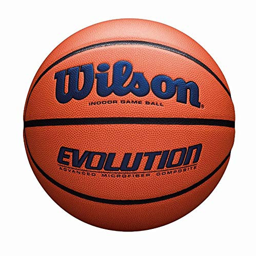 (Wilson Evolution Game Basketball, Navy, Official Size -)