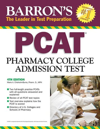Barron's PCAT: Pharmacy College Admissions Test (Barron's: The Leader in Test Preparation)