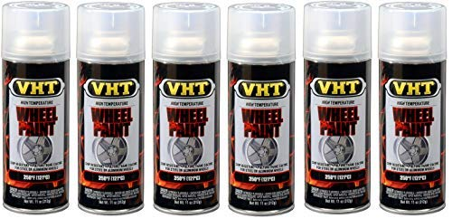VHT  ESP184007 Clear Coat Wheel Paint Can - 11 oz. (6) by VHT  (Image #1)