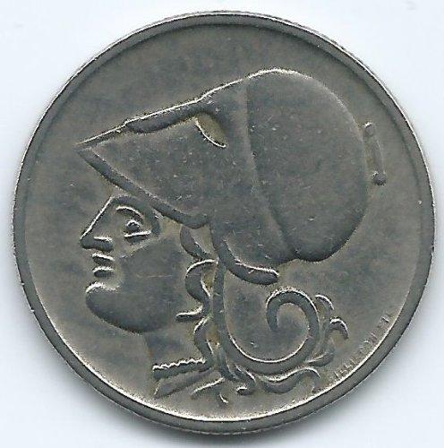 1926 Greece 1 Drachma Coin KM#69