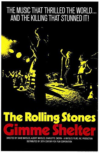 The Rolling Stones Gimme Shelter Poster