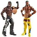 WWE Series 20 Tag Team Championships R-Truth and Kofi Kingston Figure, 2-Pack