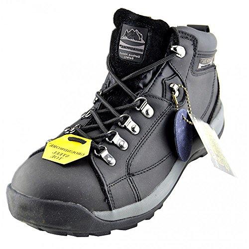 Groundwork Gr77 - Zapatos de Seguridad adultos, unisex - BLACK - GR387