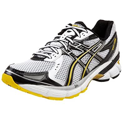 Amazon.com | ASICS Men's GEL-1150 Running Shoe, White/Black/Yellow, 6 M | Running