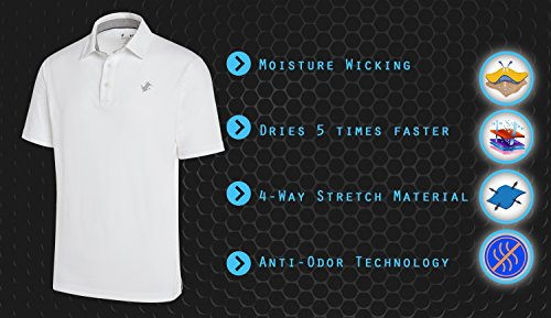 Dry Fit Cotton Polo Shirt - features
