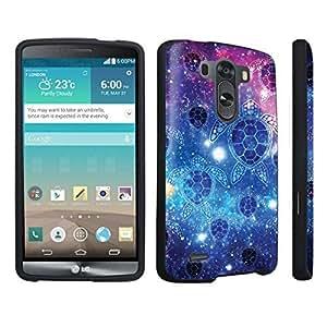 DuroCase ? LG G3 Hard Case Black - (Sea Turtle Space)