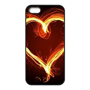 ZK-SXH - Fire Love Customized Hard Back Case for iPhone 5,5G,5S, Fire Love Custom Cover Case