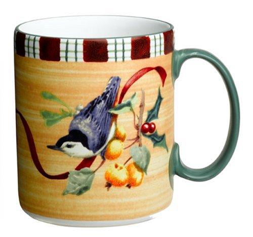 Lenox Winter Greetings Everyday Stoneware Nuthatch Mug ()