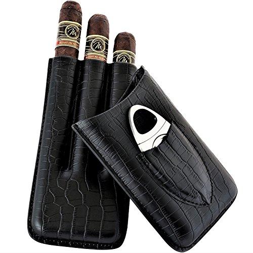 leather cigar cutter - 3