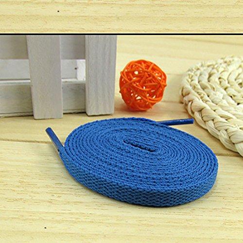 Flat Sportschuhe Ersatzschnur Blau2 Turnschuhe und YaToy Schnürsenkel Schuhseil für 0IHwzdq