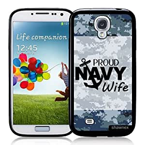 Cool Painting Galaxy S4 Case - S IV Case - Shawnex US Navy Wife Camo Samsung Galaxy i9500 Case Snap On Case