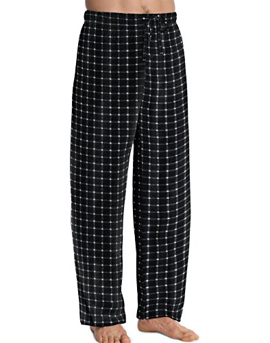 Hanes ComfortSoft Men`s Cotton Printed Lounge Pants - Best-Seller, L Printed Lounge Pants