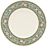 Lenox Spring Vista Gold Banded Ivory China 9 Accent Plate